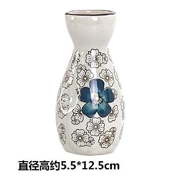 MMXXAIWWAA Zephyr jarra de vidrio de cerámica jarra creativa vino botella shochu licor sake botella de