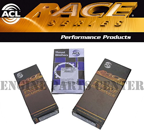 ACL RACE ROD & Main & Thrust Washer Bearings compatible with Acura Honda B16A B18A B18B B20B B20Z STD. (ALL STD SIZES)