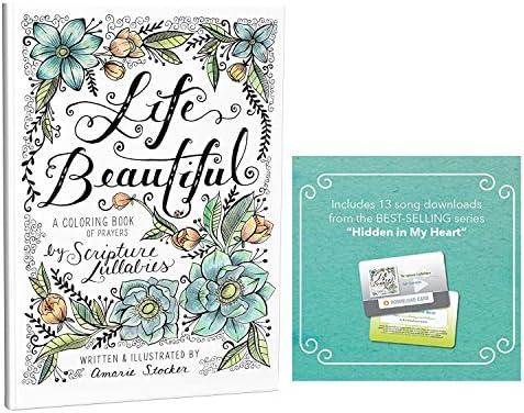 Scripture Lullabies Beautiful Christian Coloring product image