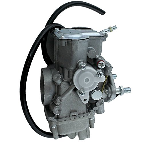 Yamaha Standard Engine (Carburetor Fits for YAMAHA WARRIOR 350 YFM350 1999 2000 2001 2002 2003 2004 Carb Engine Carbon Car Replacement)