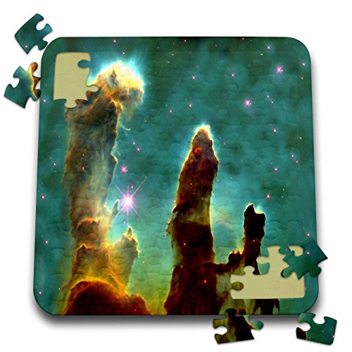 Florene - Space - Print of Eagle Nebula In Outer Space - 10x10 Inch Puzzle (pzl_204811_2)