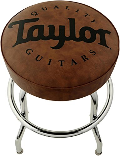 Taylor 24 Inches Logo Barstool - Brown (Stools Custom Bar Logo)