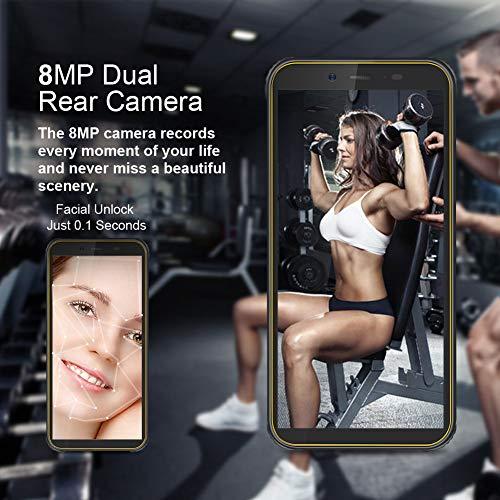 Telephone Portable Incassable, Blackview® BV5500 Ecran 5.5 Pouces HD+18:9, 16Go ROM + 2Go RAM et 4400mAh Batteries… 4