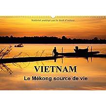 Vietnam Le Mekong Source De Vie 2017: Le Vietnam Est Traverse Par Le Fleuve Mekong. Sur L'eau, Sur Les Berges, La Vie Fourmille De Toutes Parts...