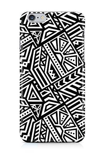 COVER AZTEC Gipsy Hippie Muster schwarz weiss Handy Hülle Case 3D-Druck Top-Qualität kratzfest Apple iPhone 6 Plus