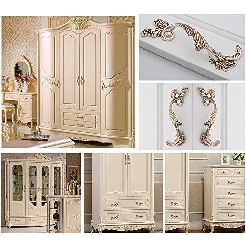 Lvcky Lvcky Lvcky 4 Luxus Schrank Griffe Elegante Schrank Schublade Griff Zimmer buchen Dekoration 128 mm B07GXNRPJG | Online Store  258364