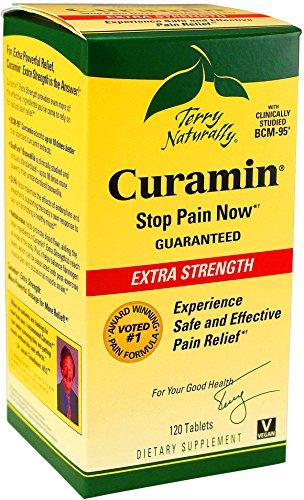 Terry Curamin Naturellement Extra Strength, 120 comprimés