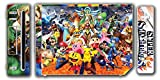 Super Smash Bros Melee Brawl Mario Pikachu Yoshi Mega Man Zelda Sonic Metroid Fire Emblem Video Game Vinyl Decal Skin Sticker Cover for the Nintendo Wii System Console