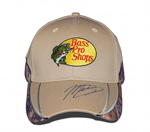 AUTOGRAPHED 2017 Martin Truex Jr. #78 Bass Pro Shops Racing MONSTER CHAMPIONSHIP SEASON Signed Official MTJ Motorsports Camo Tan Cap/Hat with COA