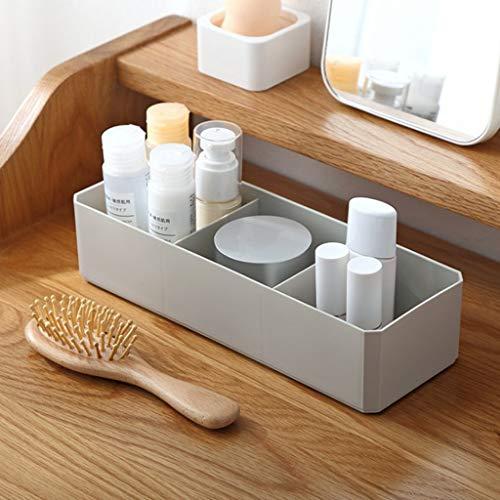 Winner666 2019 Living Room Dressing Table Desktop Sundries Storage Box Office Storage Box (Gray)
