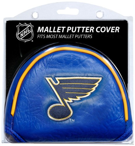 Team Golf NHL St Louis Blues Golf Club Mallet Putter Headcover, Fits Most Mallet Putters, Scotty Cameron, Daddy Long Legs, Taylormade, Odyssey, Titleist, Ping, Callaway