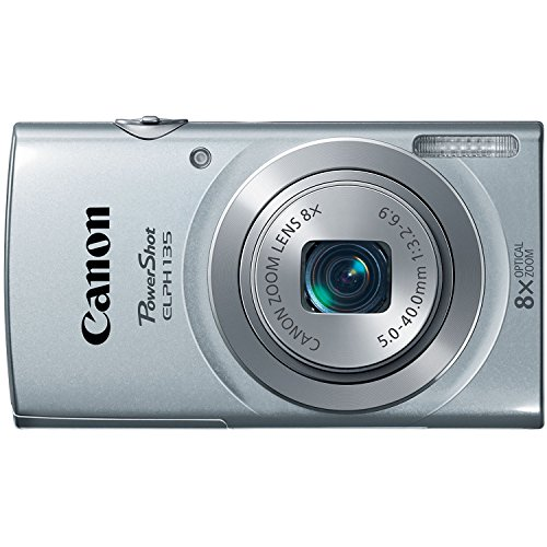(Canon PowerShot ELPH135 Digital Camera (Silver) (Discontinued by Manufacturer))