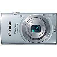 Canon PowerShot ELPH135 Digital Camera (Silver)...