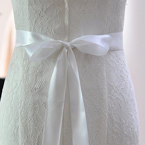 Perlant Des Femmes Azalées Ceintures De Châssis Nuptiale Ceintures De Ceinture De Mariage Pour Robe De Mariée Blanche