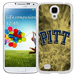 Popular And Durable Designed Case With NCAA Atlantic Coast Conference ACC Footballl Pittsburgh Panthers 2 Protective Cell Phone Hardshell Cover Case For Samsung Galaxy S4 I9500 i337 M919 i545 r970 l720 Phone Case White