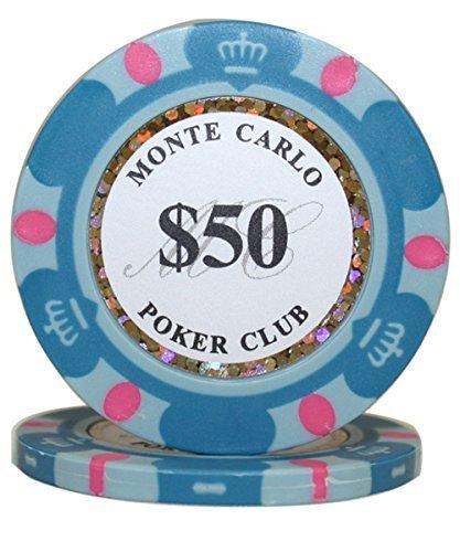 50 B00WS26ZNO $ 50 50 Monte Carlo 3-toneクレイComposite 14 MRC Gram Poker Chips by MRC B00WS26ZNO, アズミムラ:31c99c93 --- itxassou.fr