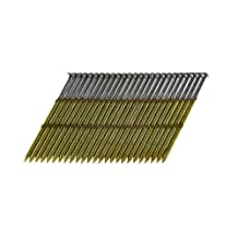 B&C Eagle A3X120HDR/28 Offset Round Head 3-Inch X 0.120 X 28 Degree Hot Dip Galvanized Ring Shank Wire Collated Framing Nails (500 Per Box)