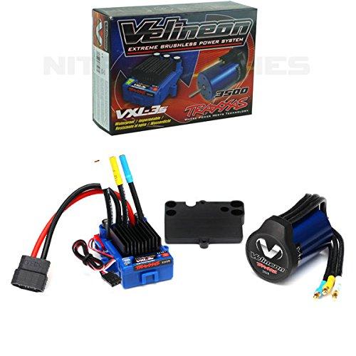 Traxxas 3350R Velineon VXL-3s Brushless Power System (Rustler Parts Traxxas)