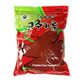ROM AMERICA - 3 Pound - Korean Red Chili Hot Pepper Coarse Powder Flakes 고추가루