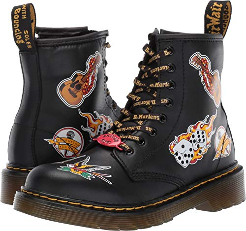Dr. Martens Kid's Collection Unisex 1460 Patch Boot