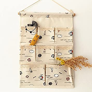 Cupwenh Speicher Box Lagerung Tasche Die Kleine Baumwolle Tasche