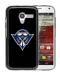 NCAA Tennessee Martin Skyhawks 5 Black Hard Shell Phone Case For Motorola Moto X