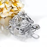 Studio Silversmith 43996 Crystal Turtle Candy Box