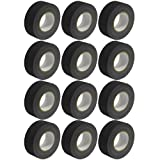 Seismic Audio - SeismicTape-Black602-12Pack - 12 Pack of 2 Inch Black Gaffer's Tape - 60 yards per Roll