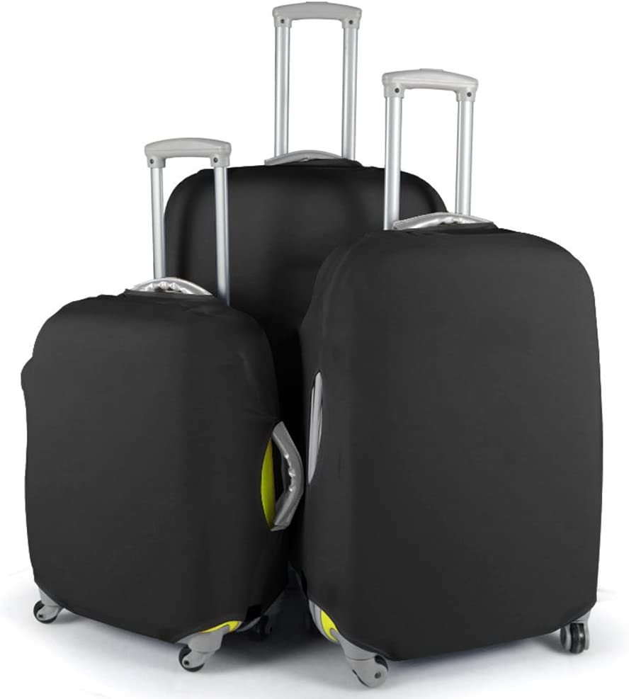 S, Black Westmell Spandex Luggage Protector Suitcase Cover for Travel Fits 18-20 inch Luggage