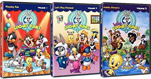 Baby Looney Tunes: TV Series Volumes 1-3 Complete 3 DVD Collection (Series Looney Tunes)