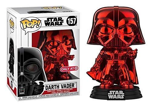 Funko Pop! Star Wars - Darth Vader (Red Chrome) Exclusive