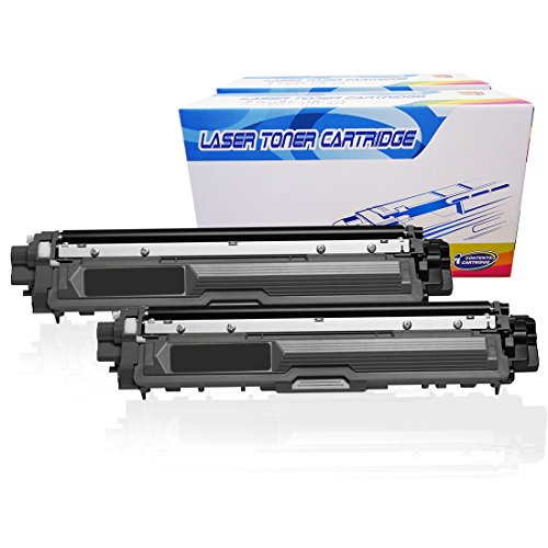 Inktoneram Compatible Toner Cartridges Replacement for Brother TN221 TN-221 TN-221BK TN221BK MFC-9130CW MFC-9330CDW MFC-9340CDW HL-3140CW HL-3150CDN HL-3170CDW HL-3180CDW DCP-9020CDN (Black, 2-Pack)