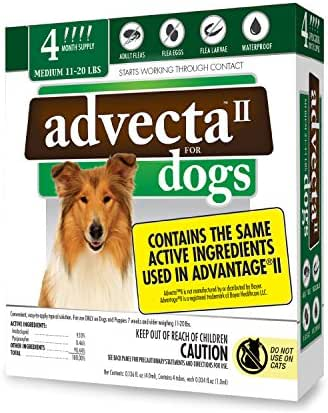 Dog Medication & Health Supplies: Advecta II for Dogs