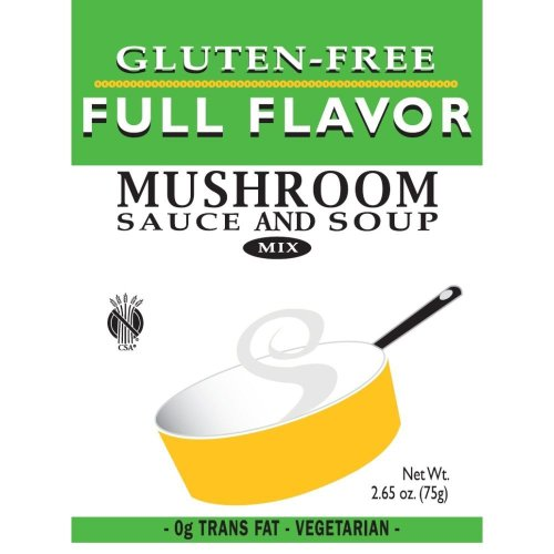 Full Flavor Foods: Gluten Free Mushroom Sauce Mix 2.65 Oz (8 Pack (Full Flavor Foods)
