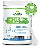 Myo-Inositol Powder | 18 Ounces (510 g) | 2000 mg per Serving | Includes Free Scoop for Exact Dosage | 100% Pure | 255 Servings | Vegan and Non-GMO | All-Natural Fertility and Reproductive Support
