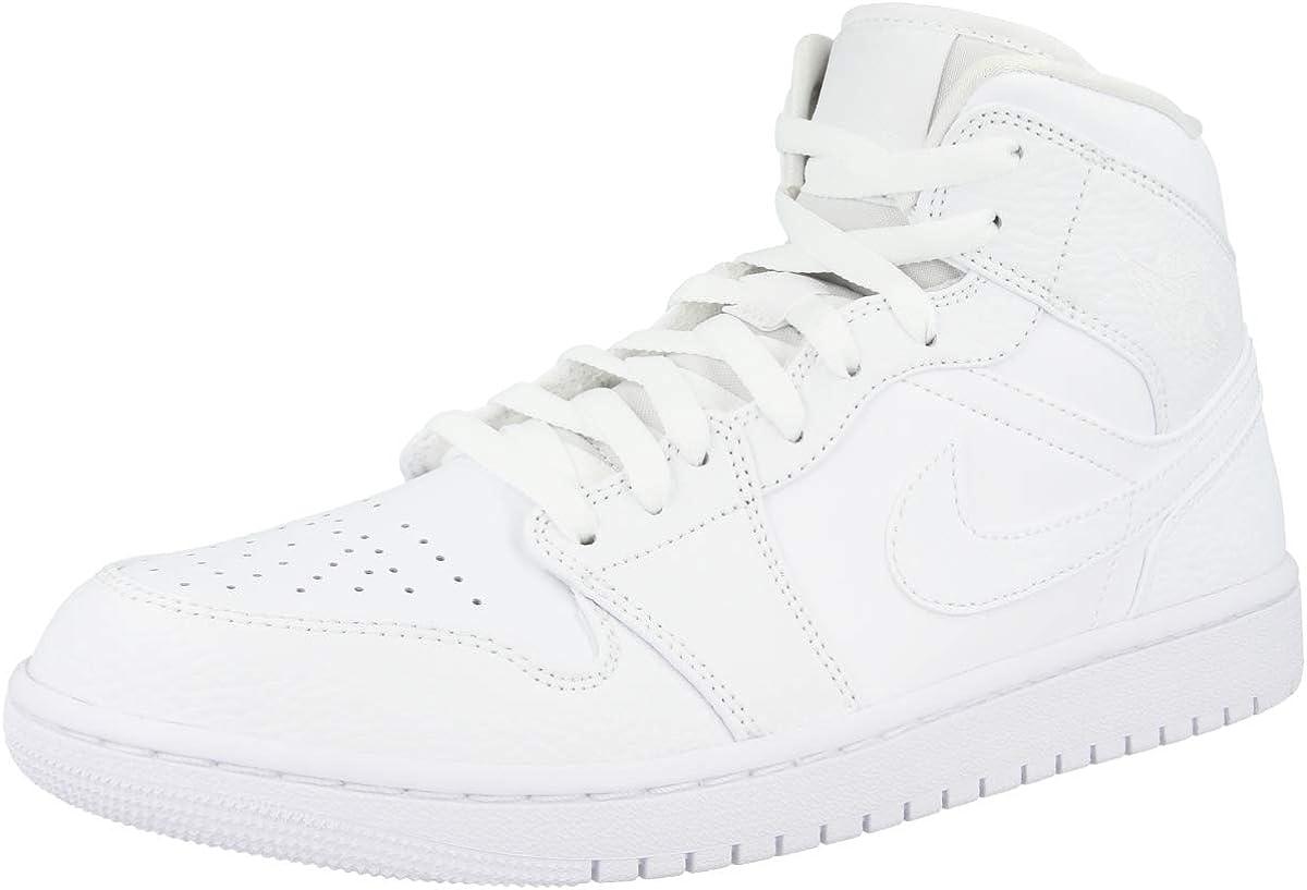 Nike Air Jordan 1 Mid Chaussure de Basketball Homme