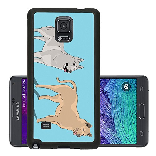 luxlady-premium-samsung-galaxy-note-4-aluminum-backplate-bumper-snap-case-image-21509796-two-dog