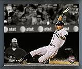 "Ichiro Suzuki Seattle Mariners MLB Spotlight Action Photo (Size: 12"" x 15"") Framed"