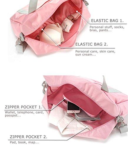 Bag Handbag Storage Pick Grey Travel Pocket Multi Pouch Shoulder Body Bags Cross Zwgx7aqa