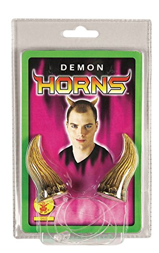 Rubie's Costume Co. Demon Horns Costume White ()
