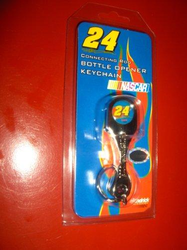 Connecting Rod Bottle Opener Keychain - NASCAR #24 Jeff Gordon Connecting Rod Bottle Opener Keychain