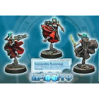 Cassandra Kusanagi (1) Nomads Infinity Corvus Belli