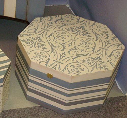 Caja Sombrerera. En madera de chopo en crudo. Se puede pintar. Medidas: 40 * 40 * 20 cms.: Amazon.es: Hogar