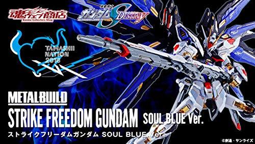 Tamashii Nation 2018 Strike Freedom Gundam Soul Blue Metal Build ()