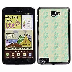 ZECASE Funda Carcasa Tapa Case Cover Para Samsung Galaxy Note I9220 No.0001828