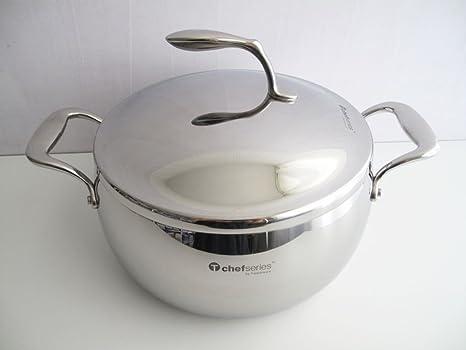 TUPPERWARE Chef Serie Gourmet-Linie Cacerola 5,7 L incl. Tapa de Metal