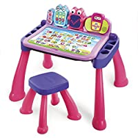 VTech Touch y Learn Activity Desk Deluxe, rosa