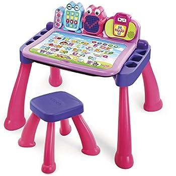 Amazon Com Step2 Deluxe Art Master Desk Toys Amp Games