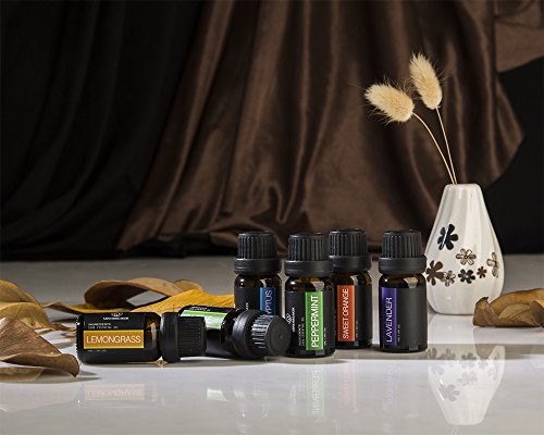 Scents include eucalyptus, lavender, peppermint and more