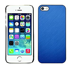 Plastic Shell Protective Case Cover || Apple iPhone 5 / 5S || Blue Nature Winter Fall Clean @XPTECH